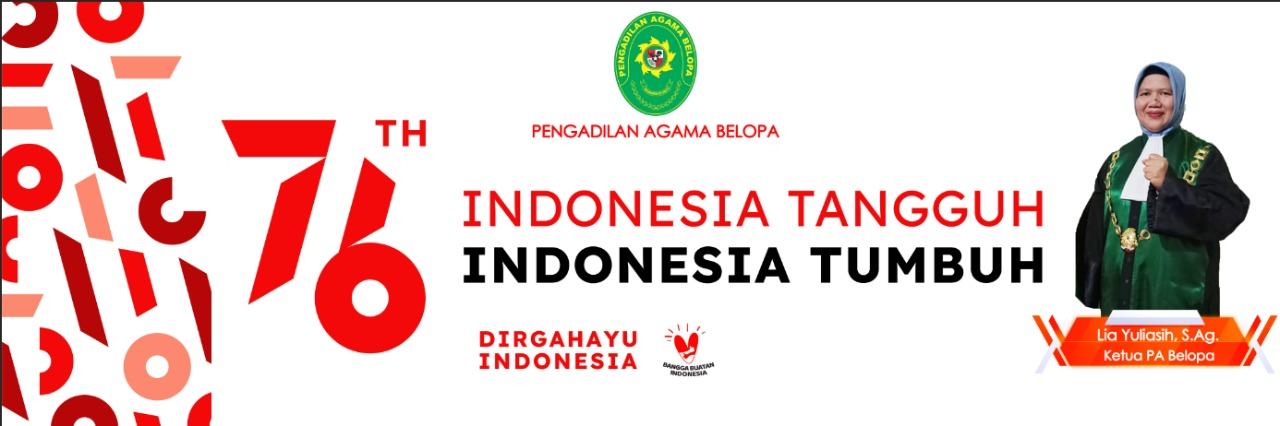 Dirgahayu Republik Indonesia Ke - 76 Tahun