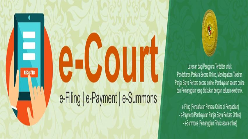 E-Court (Pendaftaran Online)